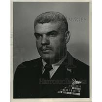 1959 Press Photo Lt. Col. Thomas F. Bailey has named base detachment commander