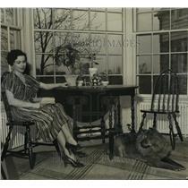 1937 Press Photo Mrs. Fred Beck  - mja16483