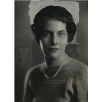 1934 Press Photo Franchesca Eschweiler  - mja14894