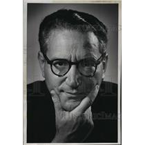 1961 Press Photo Conductor Alfredo Antonini  - mja19239