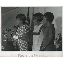 1968 Press Photo Mrs Spiro T Agnew, wife of the Republican Vice Presidential nom