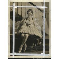 1929 Press Photo Janet McComb, daughter of Mr. and Mrs. Carl McComb  - mja18073