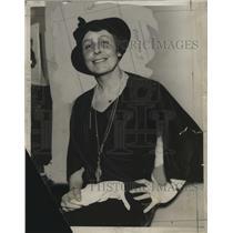 1934 Press Photo Mrs. William Mitchell of Middleburg, Va., and Washington, D.C.