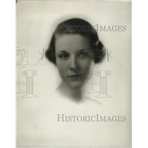 1934 Press Photo Janet McComb - mja18076