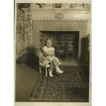1931 Press Photo Sylvia Cleveland Blake daughter of  Mrs. Jas Blake - mja18636