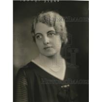 1928 Press Photo Mrs. Werner Lutz - mja17565