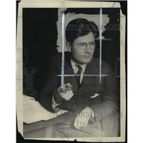 1930 Press Photo Gov Phil LaFollette of Wisconsin  - mja14697