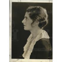 1931 Press Photo Betty Sullivan, active in student affaits at Mount Mary college