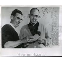 1959 Press Photo Bob James and Art Stahler - mja15793