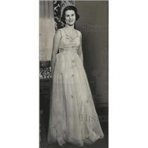 1938 Press Photo Miss Jane Leedom, Milwaukee Society Girl- 1937 - mja18608