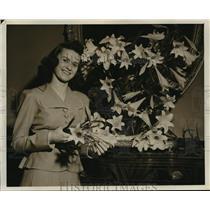 1941 Press Photo Jane Leedom now Mrs John Newton Briggs - mja17024