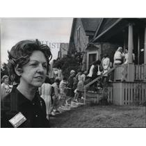 1973 Press Photo Mrs. Grace Abramson, co-chairman of Church Women United