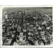 1943 Press Photo Argentina - mja20058