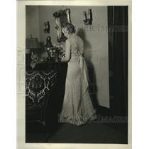 1931 Press Photo Antoinette Smith, daughter of Ray Smith - mja18066