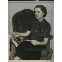1935 Press Photo Mr. & Mrs. Lewis Dewey will entertain at Zarse & Icke's party