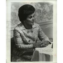 1968 Press Photo Mrs. Judy Agnew's husband, Gov. Spiro Agnew of Maryland
