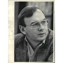1984 Press Photo Douglas J. Bennet, President of Nat. Public Radio - mja08083
