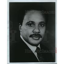 1988 Press Photo Martin Luther King III, Son of black leader Martin Luther King