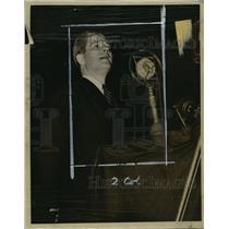 1938 Press Photo Gov Phil LaFollette - mja14695