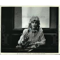 1982 Press Photo Lawrence Bembenek and her husband, Elfred O. Schultz