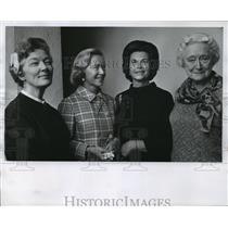 1969 Press Photo Mrs Charles P Vogel, one of charter members of the Opera Club