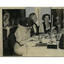 1936 Press Photo Mrs. Emil Ludwig - mja15416