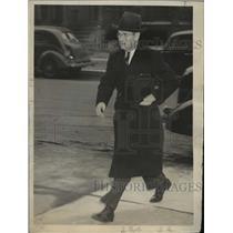1937 Press Photo Governor La Follette  - mja14712