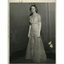 1937 Press Photo Rosemary Kopmeier now Mrs. Robert A. Bradford  - mja17557