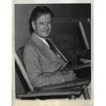 1937 Press Photo Governor Philip La Follette of Wisconsin in Panama Hotel