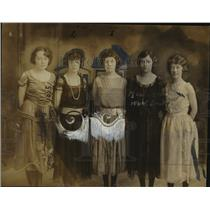 Press Photo Gertrude Kuetemeyer, Elsa Williams, Verna Scollard, Alma Upmeyer