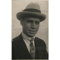 1917 Press Photo Edward Moon, greatest jockey of the Antipodes, arrives in U.S.