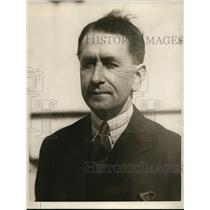 1924 Press Photo New York Death Ray inventor Grindell Matthews arrives in NYC