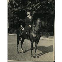 1922 Press Photo New York Mrs Jones Bryan of NY Society at Hot Springs, VA NYC