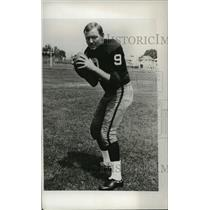 1967 Press Photo Sonny Jergensen of the Washington Redskins - cvb75072