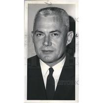 1962 Press Photo Chief of Staff for Logistics Col Thomas Scott Jr. in Spokane
