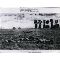 1964 Press Photo The aftermath: dead on the field of First Marne - spp01121