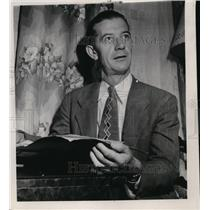 1948 Press Photo Edward A. Teichert - spa19923