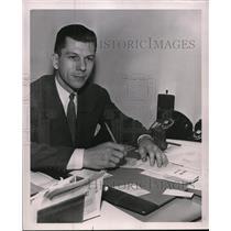 1950 Press Photo Albert Turill Executive - spa20908