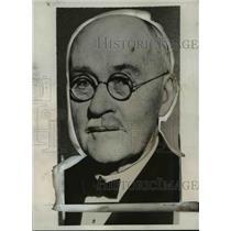 1932 Press Photo John Bennis,Retired Night Factotum of San Francisco Press Club