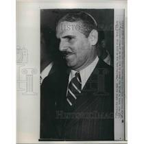 1951 Press Photo Exiled Cuban President Carlos Prio Socarres survives