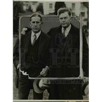 1926 Press Photo Howard Jones and Tod Jones  - nef04906