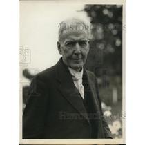 1924 Press Photo Botanist Luther Burbank - ney08943