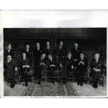 1969 Press Photo Members of Common Market Nations meet at The Hague - nef03854