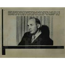 1962 Press Photo Ralph Polk Organizer of Local 286 of United Industrial Workers