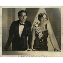 "1931 Press Photo Mary and Bob, stars of NBC-WEAF ""True Story"" program"