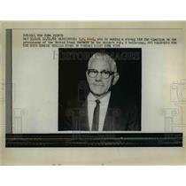 1964 Press Photo IW Abel making strong bid for United Steelworkers Presidency