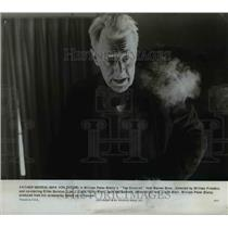 "1974 Press Photo Max Von Sydow Plays Father Merrin in the Movie ""The Exorcist"""