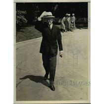 1926 Press Photo French Ambassador Henri Berenger visits President Coolidge