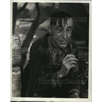 "1943 Press Photo Percy Kilbride in Warner Bros. ""George Washington Slept Here"""