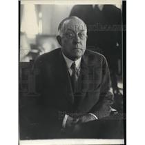 1928 Press Photo Secretary of the Interior Roy O West - spa27555